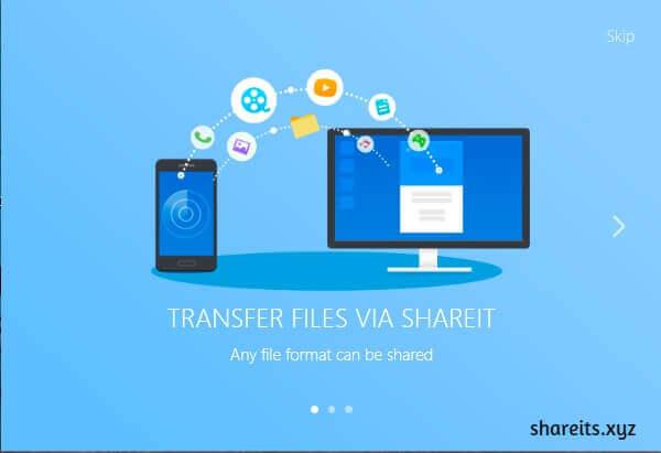 Opening SHAREit