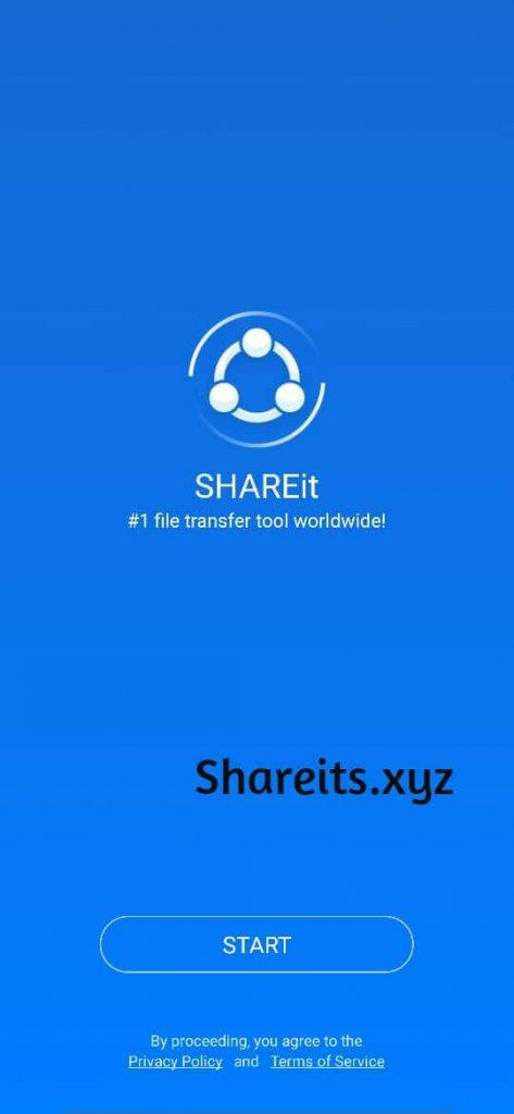 Enter Start to Open the App