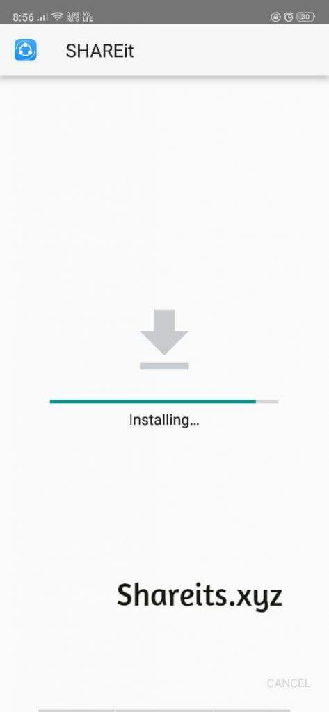 Installating SHAREit