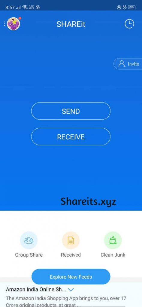 Start Sharing App, Images, Files, Now.